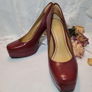 Nine west Scarlet red high heels size 7.5